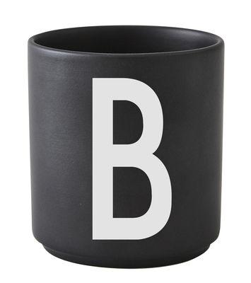 Arne Jacobsen Lettre B Lettres Design Noir Arne Jacobsen