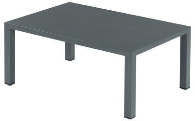 コーヒーテーブル70x100ラウンドアンティークアイアンEmu Christophe Pillet 1