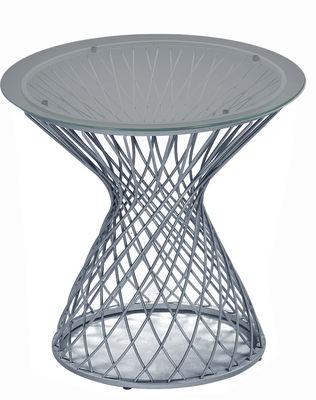 Aluminium table basse ciel Emu Jean-Marie Massaud 1