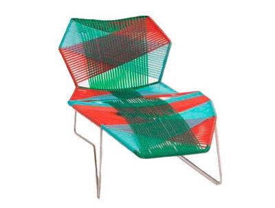 長椅子はLongueトロピカレッド|グリーンモローゾパトリシア・ウルキオラ1