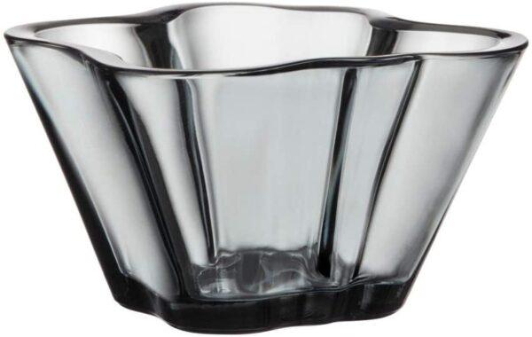 Alvar Aalto Bowl - H 75 mm Iittala Grey Alvar Aalto 1
