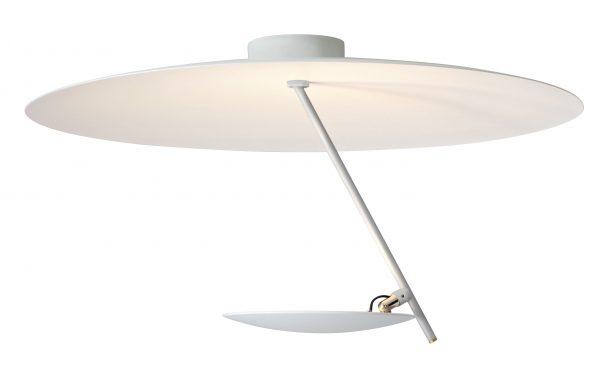 Φωτιστικό οροφής Lederam C150 / LED - Ø 50 cm Λευκό Catellani & Smith Enzo Catellani