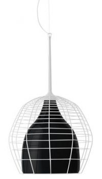 Cage de lampe - Ø 46 Blanc | Noir Diesel Foscarini Diesel Creative équipe 1