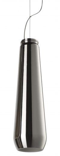 Lampe pendentif en verre chute Chrome Diesel avec Foscarini Diesel Creative Team 1