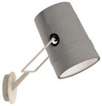 lâmpada de parede Fork cinza | Diesel marfim com Foscarini Diesel Equipe Criativa 1