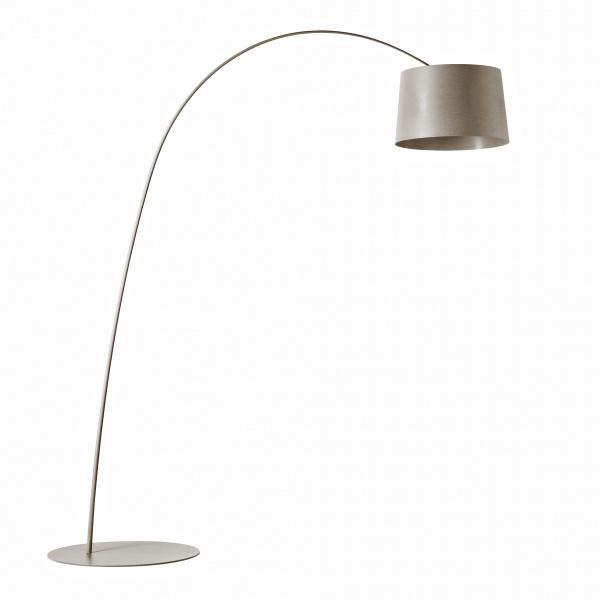 Floor lamp Twiggy Greige Foscarini Marc Sadler 1
