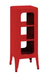 Mobile High σκαμνί H 75 cm Κόκκινο Tolix Frédéric GAUNET 1
