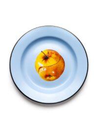 Assiette en papier de toilette - Pommes multicolores Seletti Maurizio Cattelan | Pierpaolo Ferrari