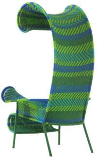 Καρέκλα σκιερά Μπλε | Πράσινο Moroso Tord Boontje 1