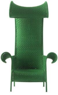 Πράσινη καρέκλα σκιερά Moroso Tord Boontje 1