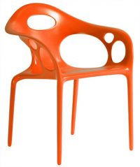 cadeira Supernatural Moroso Ross Lovegrove Laranja 1