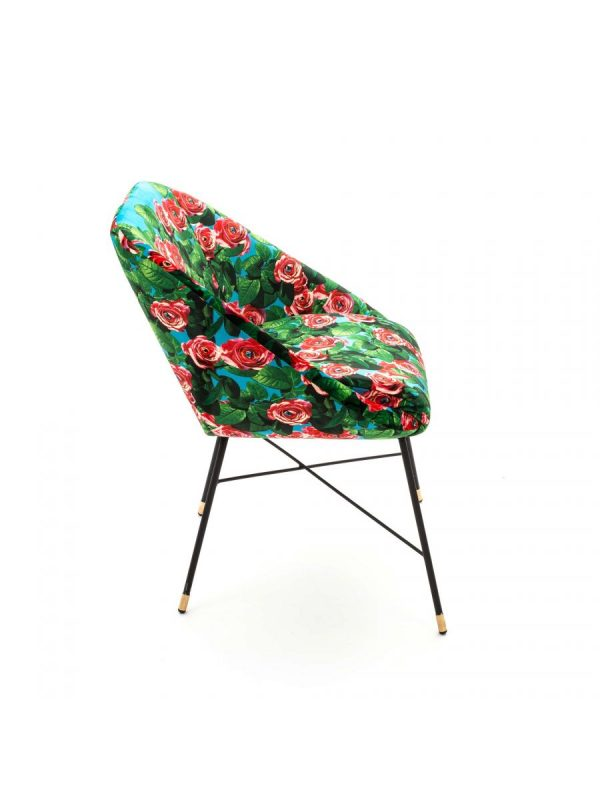 Poltrona de papel higiênico - Rosa - L 60 cm Multicolor Seletti Maurizio Cattelan turquesa |