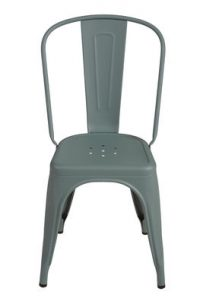 Chaise A Lichen granulé vert Tolix Xavier Pauchard 1