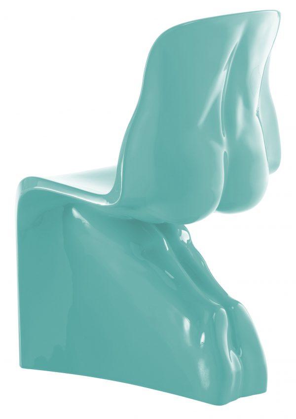 Him Chair - Casamania Hellblau lackierte Version Fabio Novembre