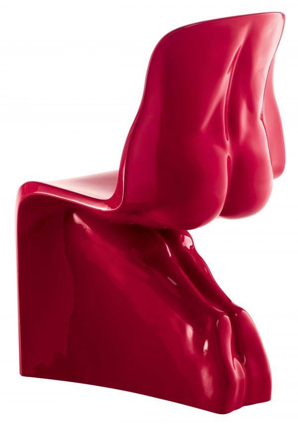 Cadeira Ele - lacado Red Casamania Fabio Novembre version