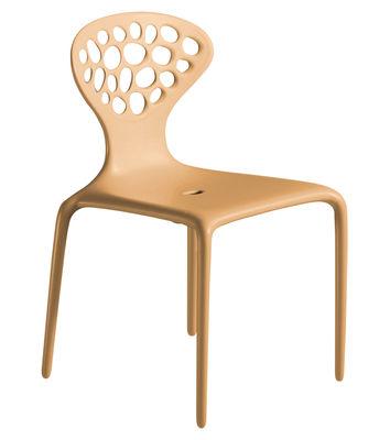 cadeira Supernatural Moroso Ross Lovegrove Caramel 1