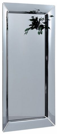 Caadre Spiegel - 105 x 195 cm Silber FIAM Philippe Starck