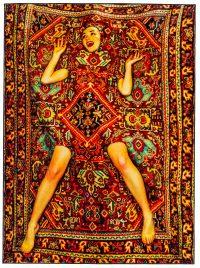 Tapi Twalèt - Lady sou Tapi - 194 x 280 cm Seletti multicolore Maurizio Cattelan |