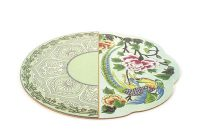 Set de table rigide Hybrid Teodora - Ø 37 cm Multicolore Seletti CTRLZAK