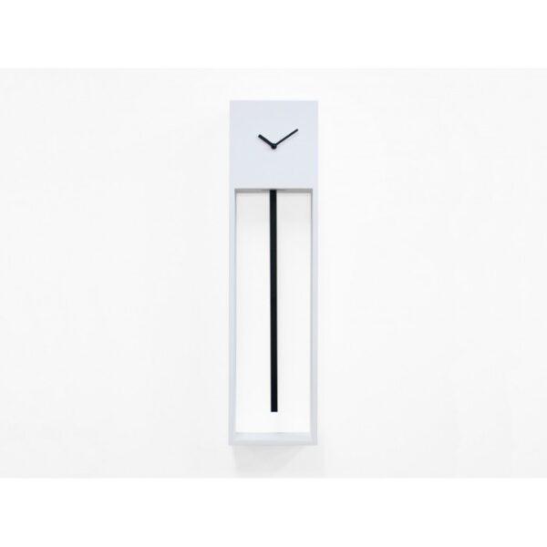 Uaigong Wall Clock White | Μαύρο Progetti Davide Tonizzo 1