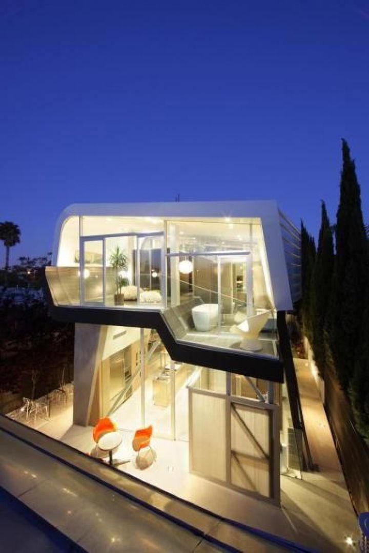 Βενετία-Παραλία-Κατοικία-από-Anthony-μηρών-Μοντέρνα Αρχιτεκτονική-
