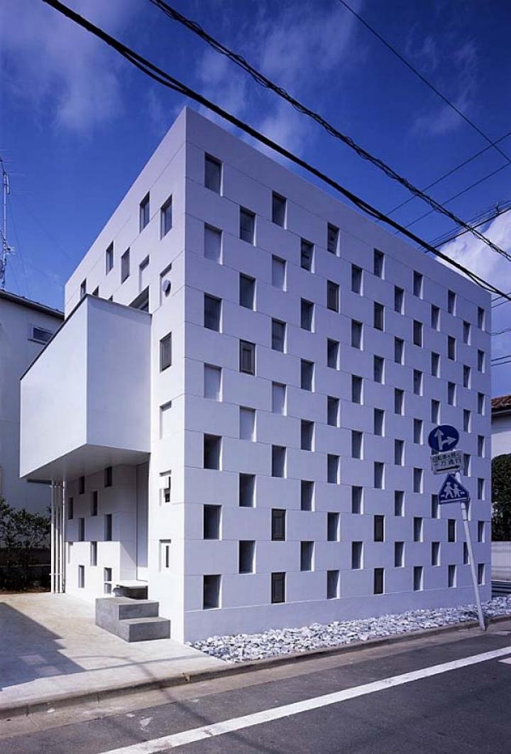 02_Cell_Brick_House_Atelier_Tekuto