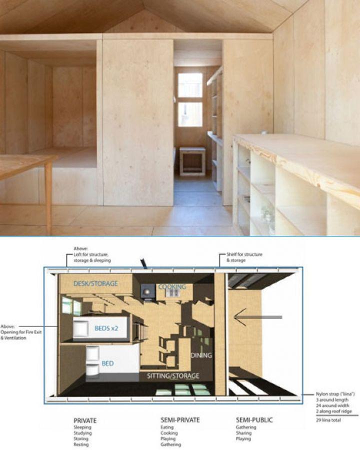 Fertig-Zimmer-Modell-Räume