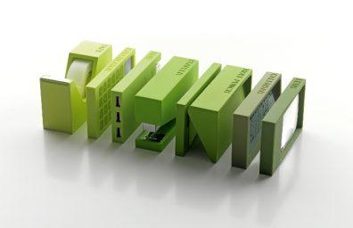 Gift Company Italien Lexon Buro grün