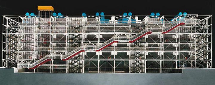 Richard Rogers Centre Pompidou, Renzo Piano-02