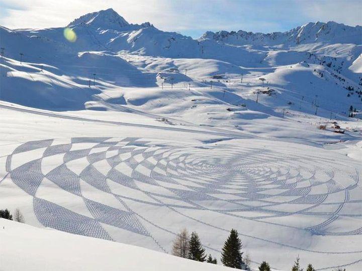 Snow-art-από-Simon-beck5