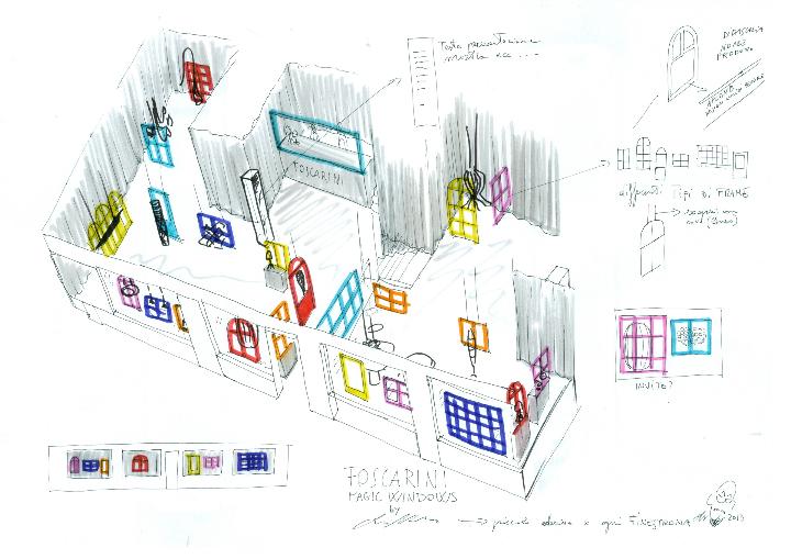 foscarini magic-windows concept sketch rid