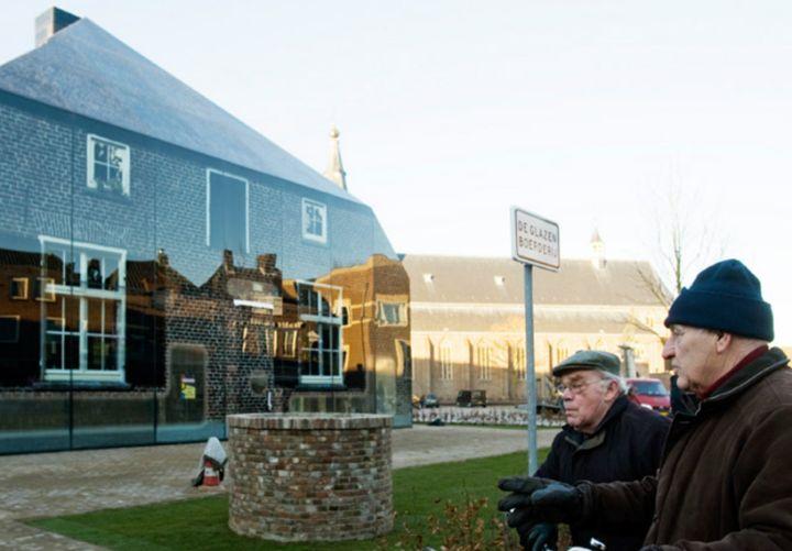 mvrdv Glas Bauernhof in den Niederlanden 03