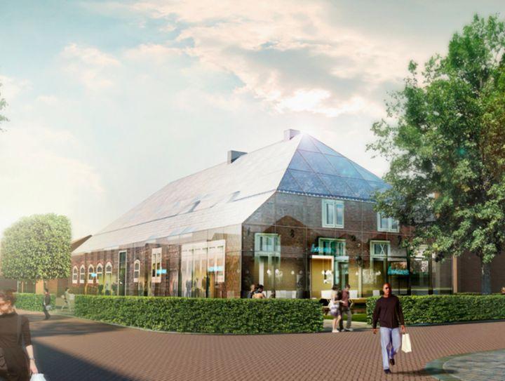 mvrdv Glas Bauernhof in den Niederlanden 06
