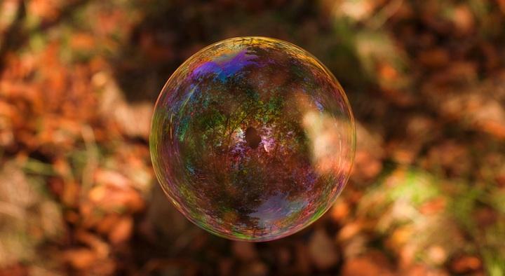Richard Heeksl magiques Réflexions sur Soap Bubbles-01