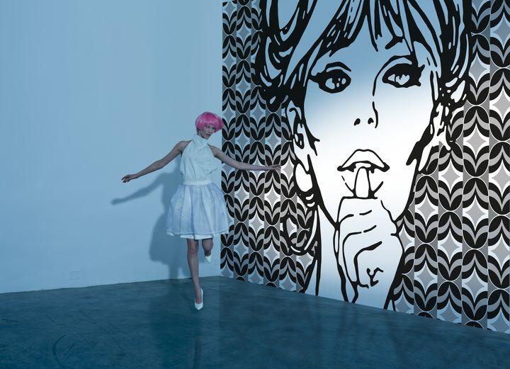 GIOPAGANI filles de papier peint sur le film