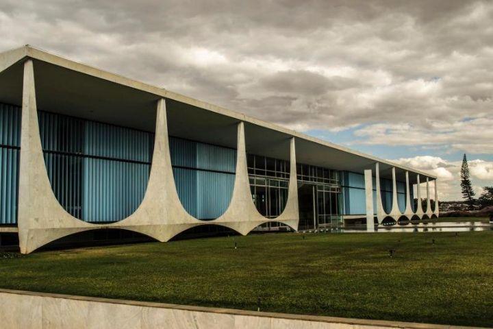 Residenz des Präsidenten brasilia Alvorada