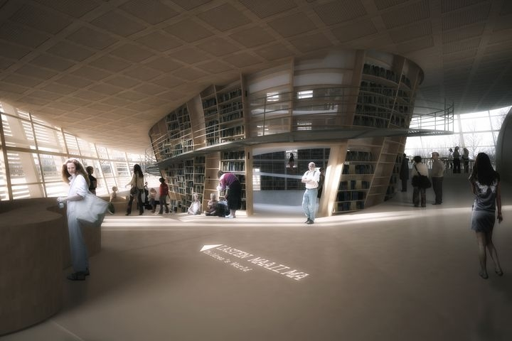 Djuric Tardio Architectes Helsinki Central Library 08