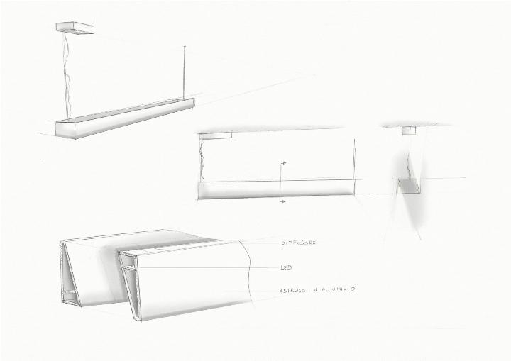 tru-suspension roberto-Paoli nemo-Cassina sketch