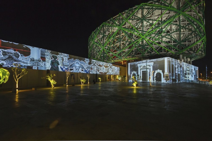 museu instalação multimídia xyz maia 15