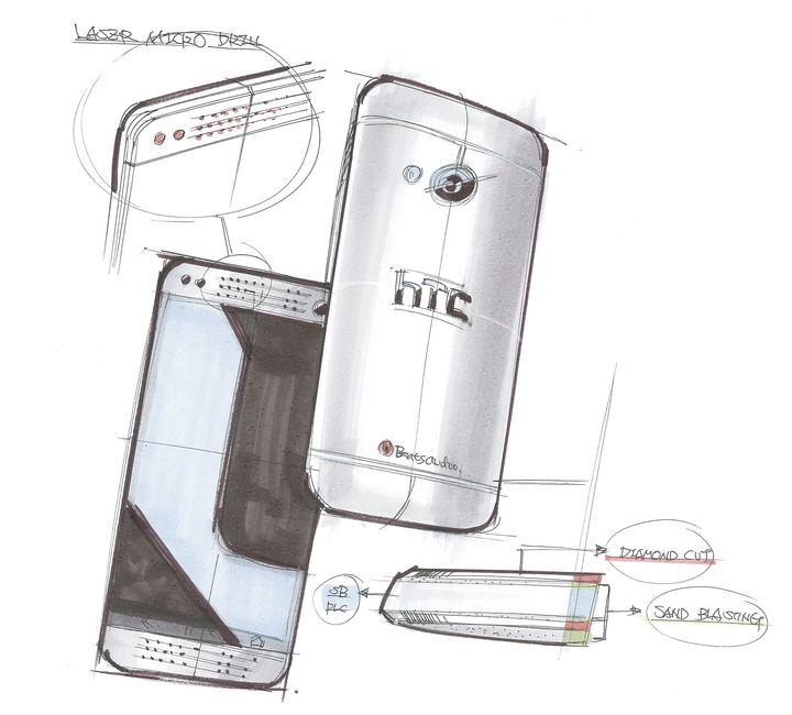 HTC One Esboço 1