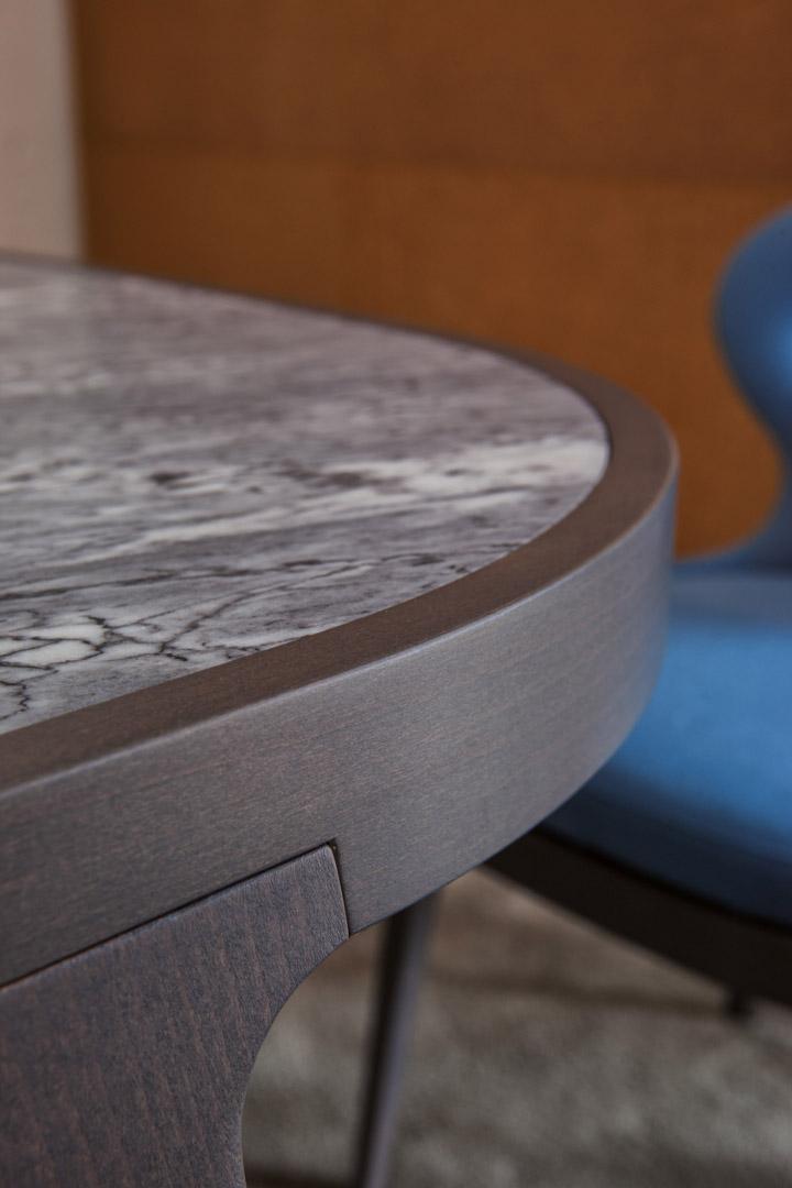 Lotus table marble top dett2