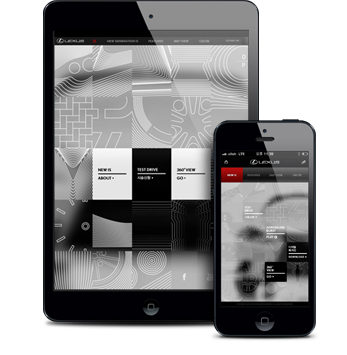 lexus new generation IS microsite 03