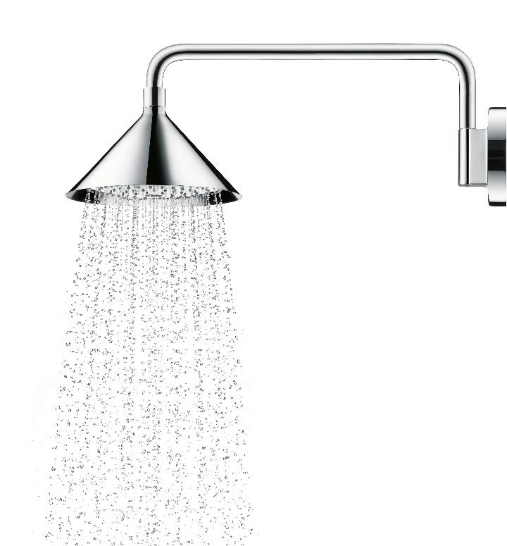 Axor ShowerProducts par douche avant finition chromé