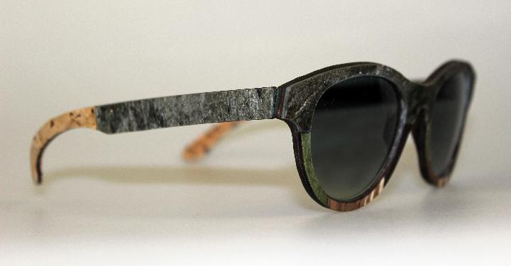Catuma sunglasses linen wood and stone 1