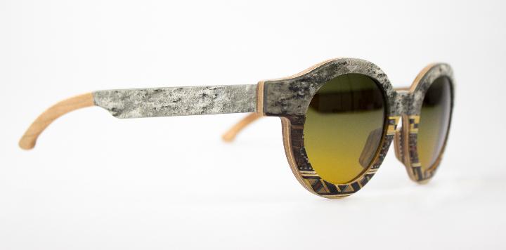 Catuma sunglasses linen wood and stone 3