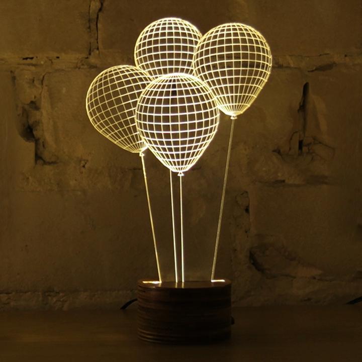 Bulbing 3d table lamp Design Magazine Social-12