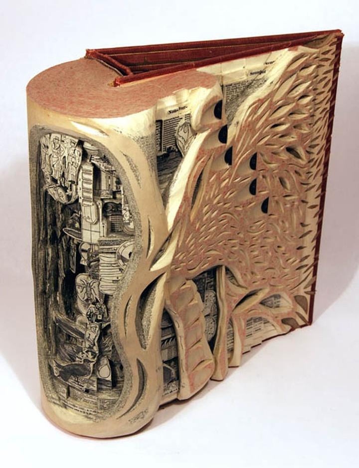 ブックアート彫刻-socialdesignmagazine02