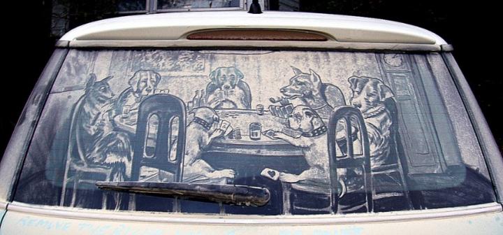 βρώμικο τέχνη αυτοκίνητο socialdesignmagazine24