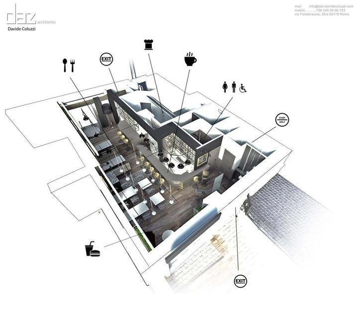 デビッドColuzziアーキテクトソーシャルマガジン-18設計によりBurBaCaバーガーバー