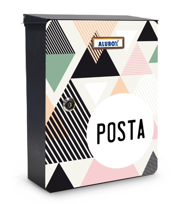 Triângulos caixa de correio projeto miabox pelo meu